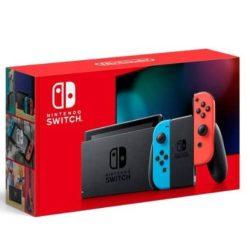 Nintendo Switch Azul y Rojo Neón