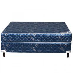 Base y colchón 1.20x1.90 Dormilon Azul